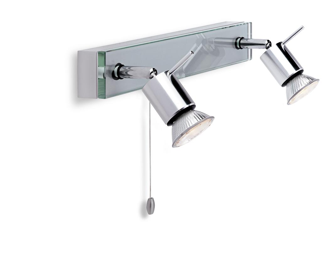 Wall Light Double Spotlight : Firstlight Aqua Double Spotlight 5513AL Luxury Lighting
