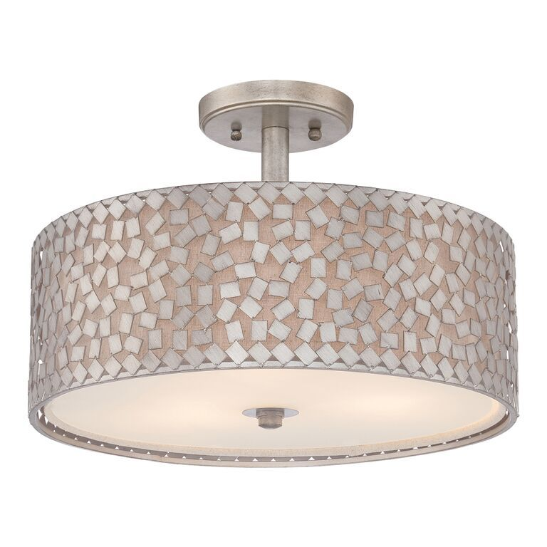 semi in quoizel nickel lighting flush mount goinglighting cody brushed product