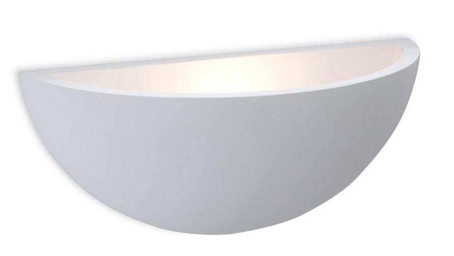 Curve Plaster Wall Uplighter - Firstlight Lighting