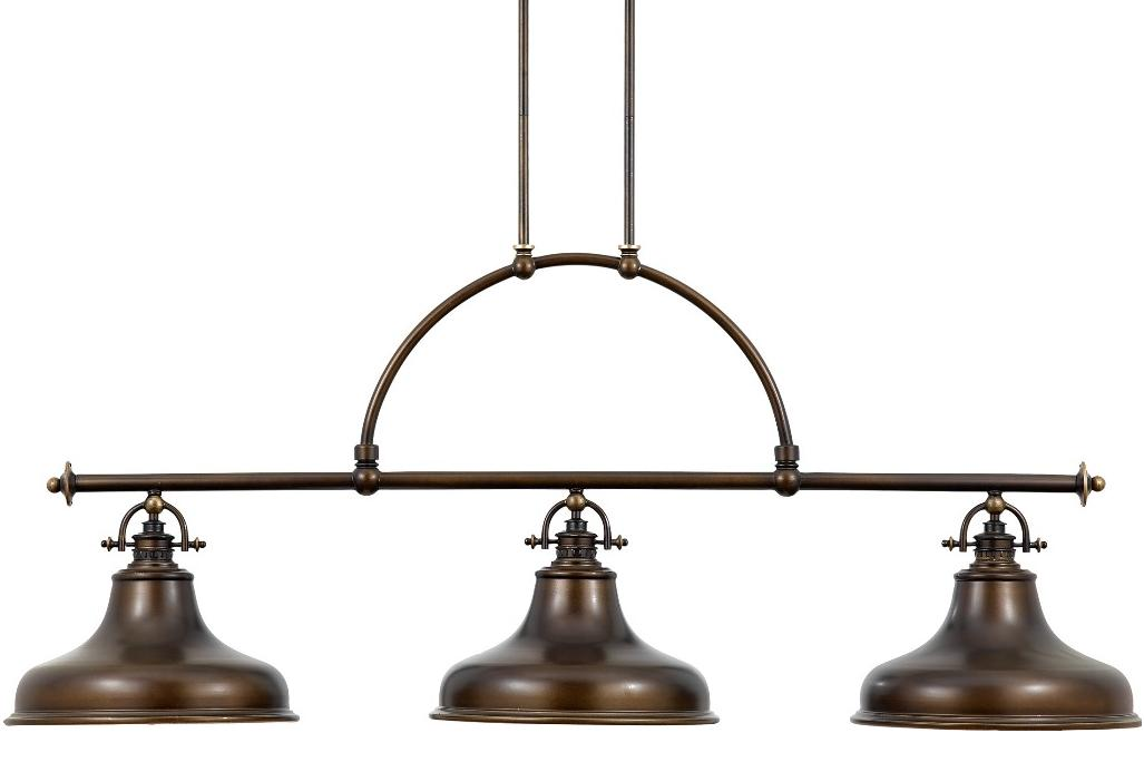 Elstead emery 3 light linear island ceiling pendant palladian bronze emery palladian bronze linear island ceiling light pendant quoizel lighting aloadofball Image collections