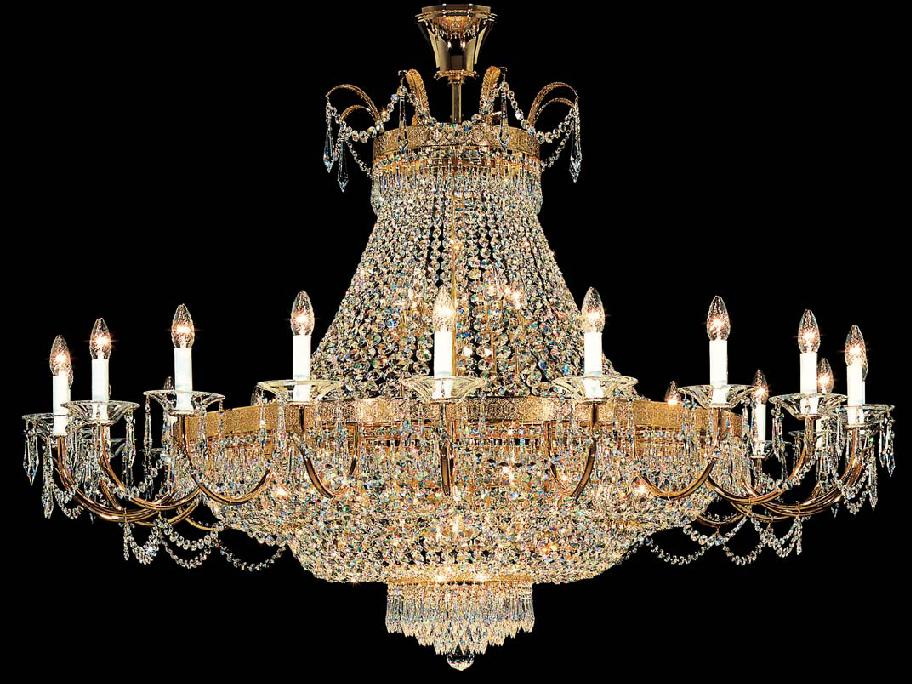 empire 43 light crystal chandelier luxury lighting