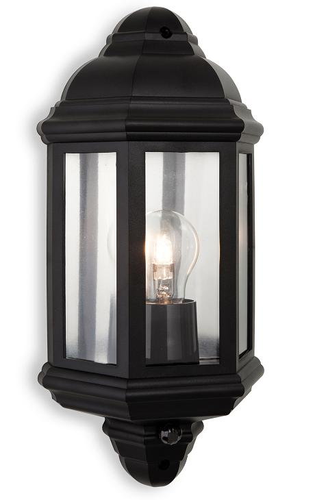 Firstlight park flush security wall lantern firstlight for Luxury exterior lighting