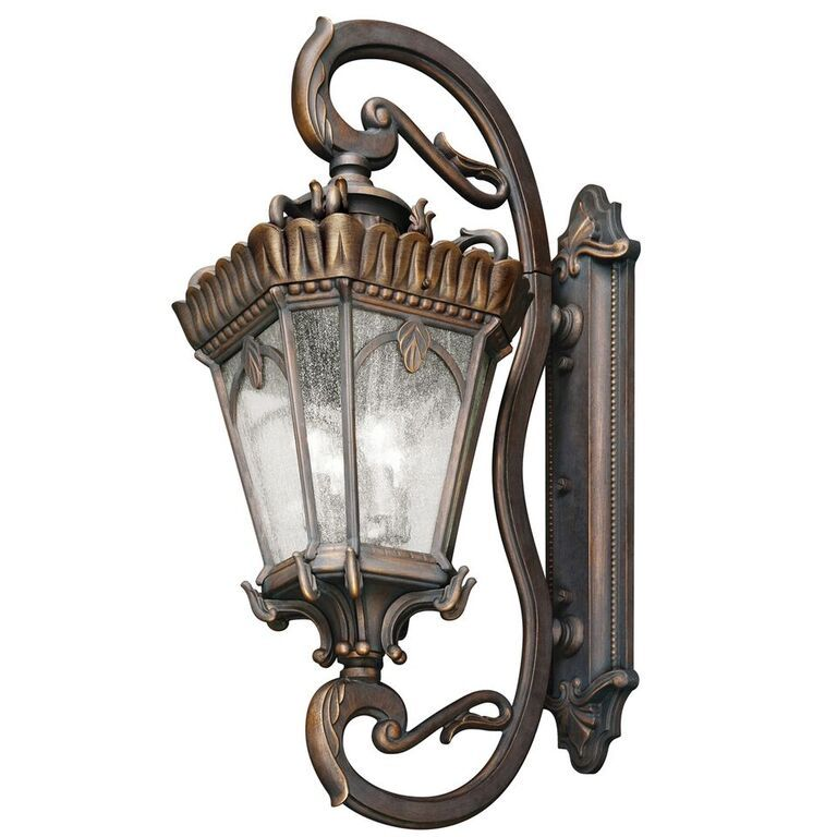 Elstead Tournai Grand Extra Large Wall Lantern KL/TOURNAI1G/XL Kichler Elstead Lighting