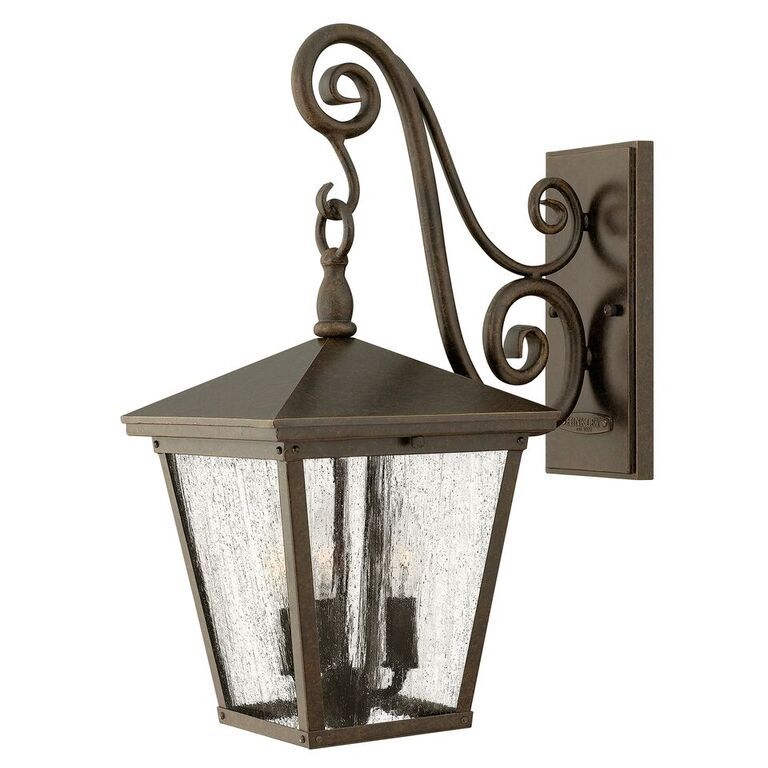 Trellis medium wall lantern hinkley lighting