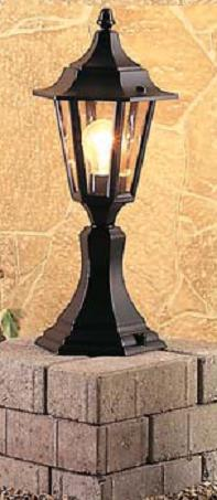6 Panel Pedestal Lantern - Firstlight Lighting