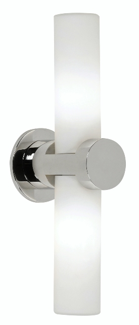 Oaks Afia Bathroom Double Wall Light | 432/2 CH | Oaks Lighting | Luxury Lighting
