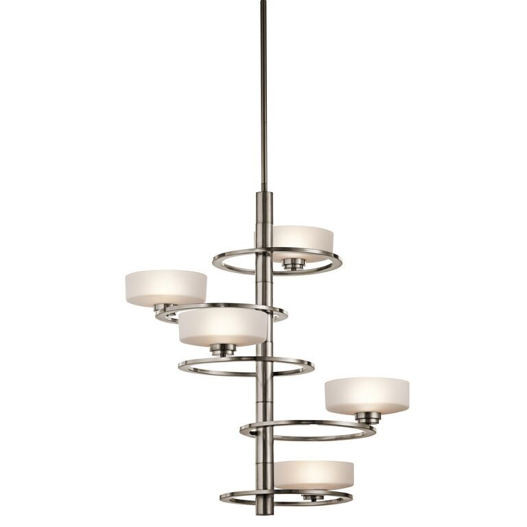 Elstead Aleeka 5 Light Ceiling Light | KL/ALEEKA5A | Kichler Lighting | Elstead Lighting | Luxury Lighting