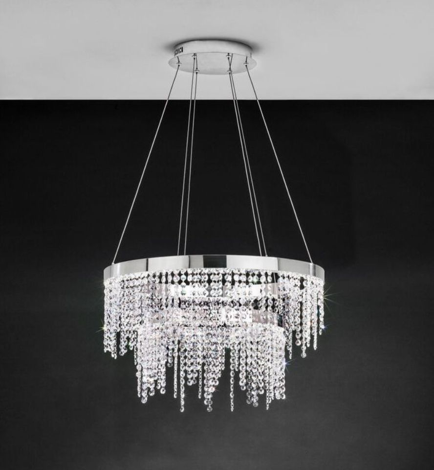 Eglo Antelao 39281 Two Tier Round LED Ceiling Light Pendant | Eglo Lighting | Luxury Lighting