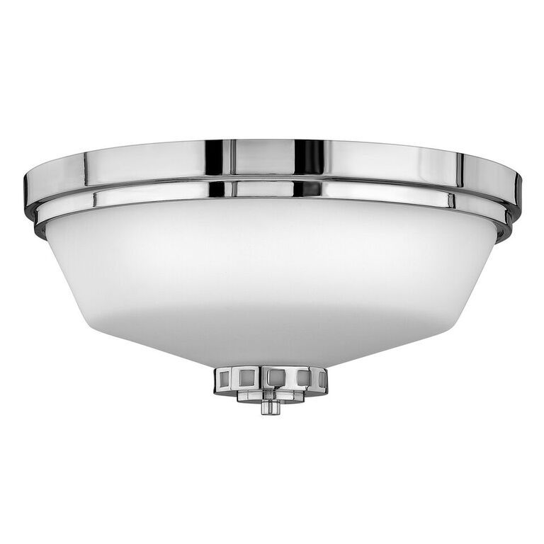 Elstead Ashley Bathroom Flush Ceiling Light | HK/ASHLEY/F BATH ...