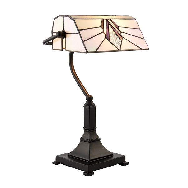 Interiors 1900 Astoria 70909 Tiffany Bankers Lamp | Luxury Lighting