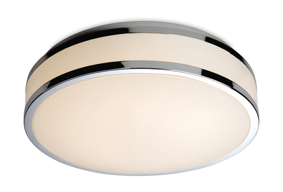 Firstlight atlantis led bathroom ceiling light 8342ch for Bathroom ceiling lights