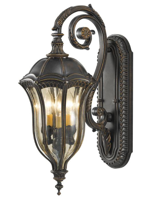 Elstead Baton Rouge Medium Wall Lantern | FE/BATONRG/M | Elstead Lighting | Feiss Lighting | Luxury Lighting