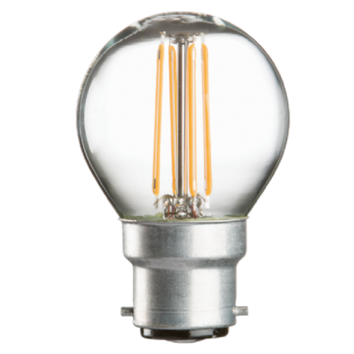 BC Golfball LED Light Bulb 4 Watt