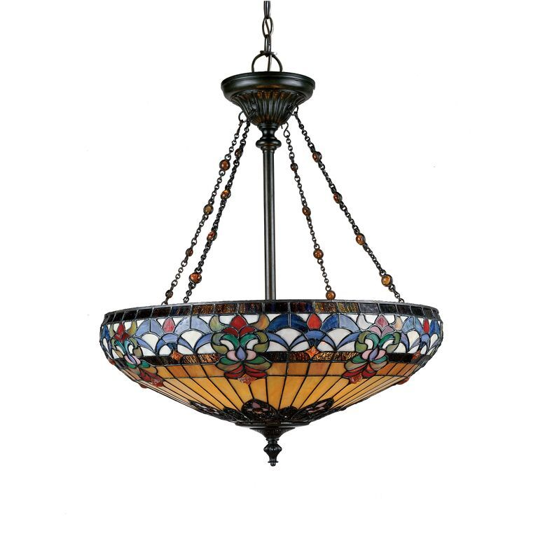 lighting lamp with l shade bowl table glenhaven p quoizel brilliant source