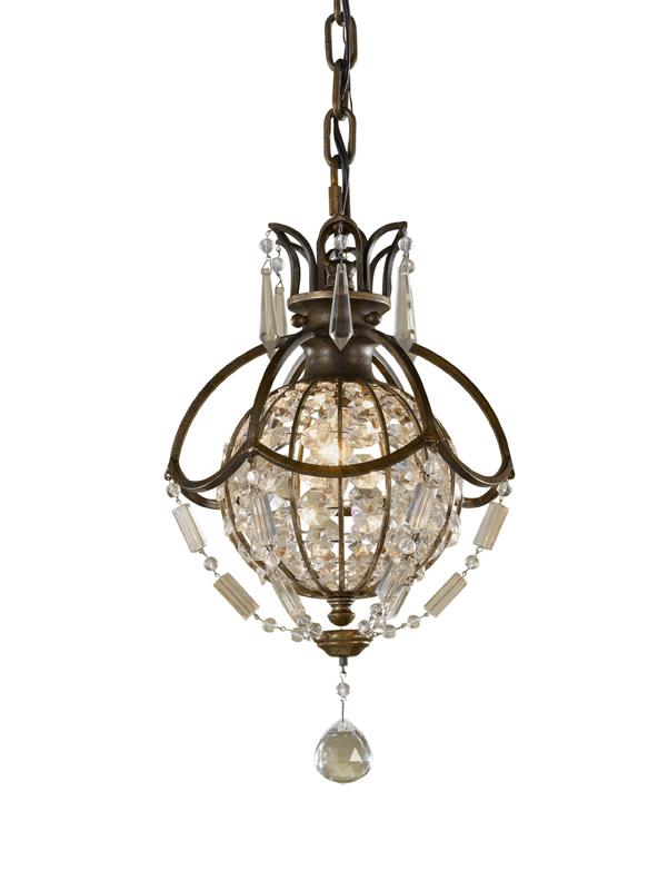 Feiss Bellini Small Ceiling Light Pendant | FE/BELLINI/P | Elstead Lighting | Feiss Lighting | Luxury Lighting