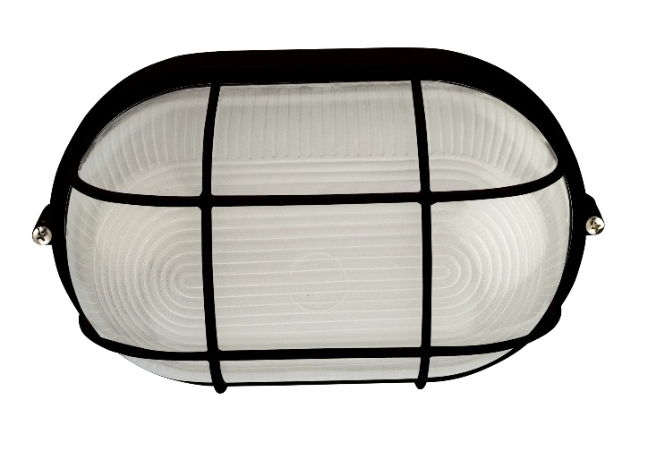 Black oval wire guard ip54 bulkhead light exterior oval bulkhead black oval wire guard ip54 bulkhead light aloadofball