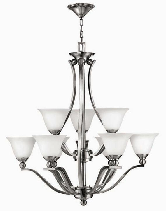 Elstead Bolla 9 Light Chandelier | HK/BOLLA9 | Elstead Lighting | Hinkley | Luxury Lighting