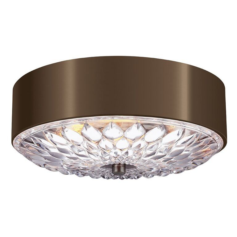 Elstead Botanic Medium Flush Ceiling Light | FE/BOTANIC/F/M | Elstead Lighting | Feiss Lighting | Luxury Lighting