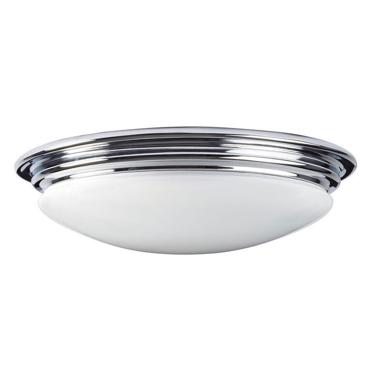 chrome modern image caden with semi glass ceiling flush light opal polished classic bathroom