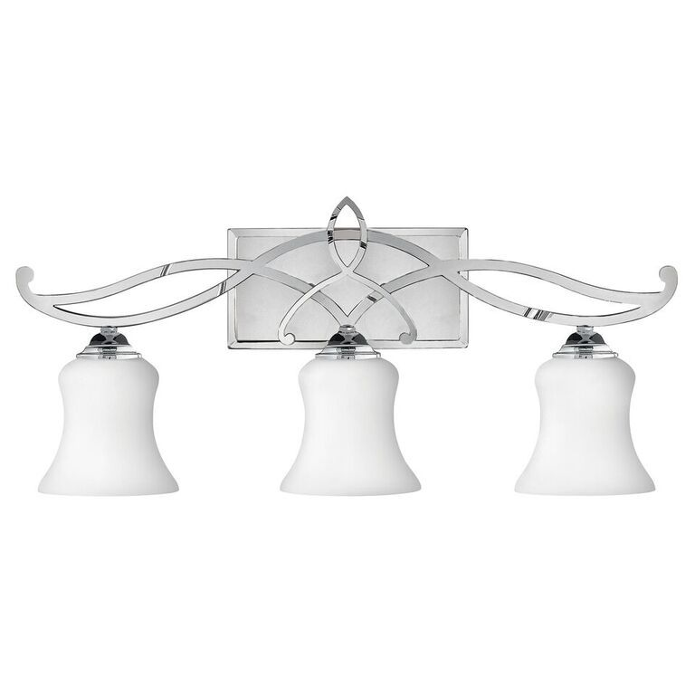 Elstead Brooke Above Mirror Bathroom Wall Light | HK/BROOKE3 BATH | Hinkley| Elstead Lighting