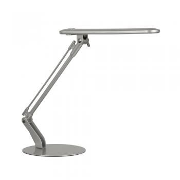 Broome Silver LED Desk Lamp - Oaks Lighting