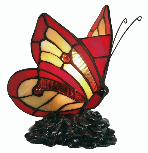 Butterfly Novelty Tiffany Lamp - Oaks Lighting