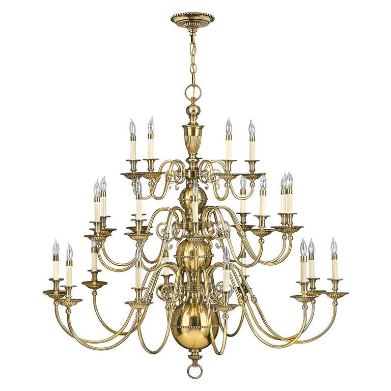 Elstead Cambridge 25 Light Chandelier | HK/CAMBRIDGE25 | Hinkley Lighting | Elstead Lighting