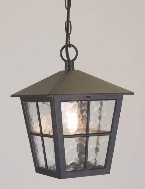 Canterbury porch chain lantern elstead lighting