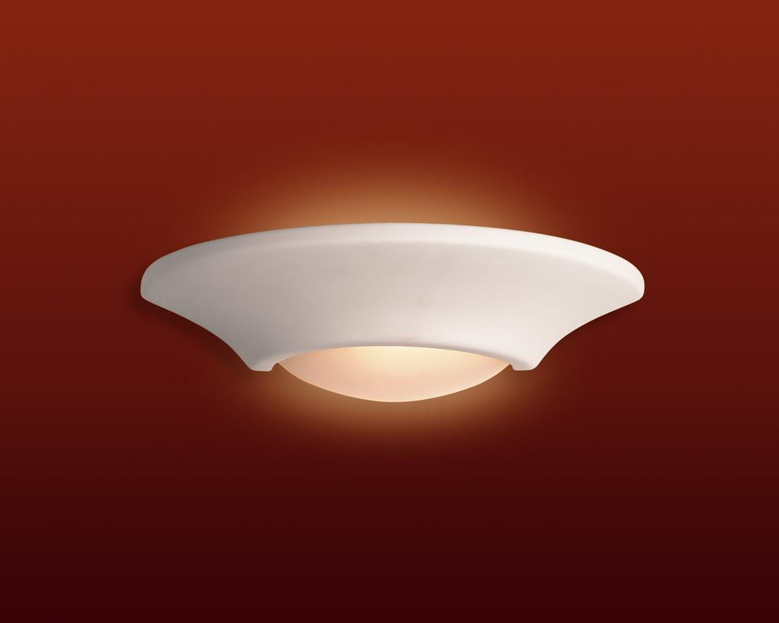 Firstlight C316 Ceramic Wall Uplighter C316un