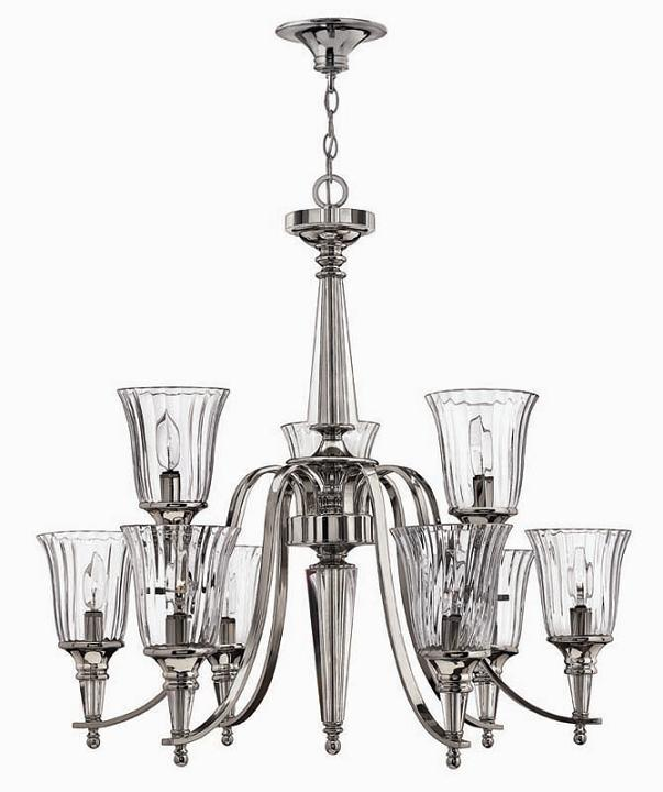 Elstead Chandon 9 Light Chandelier | HK/CHANDON9 | Elstead Lighting | Hinkley Lighting | Luxury Lighting