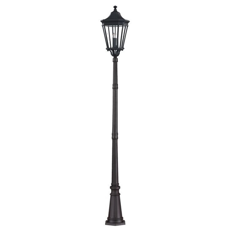 Elstead Cotswold Lane Black Lamppost | FE/COTSLN5/L BK | Feiss | Elstead Lighting