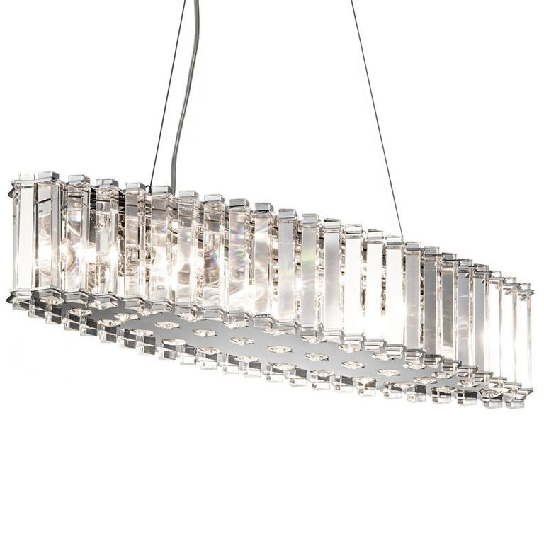 circolo nickel brushed light product ni chandelier collection products in chandeliers kichler