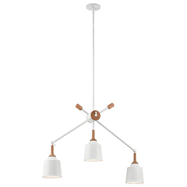 Elstead Danika3 Light Linear Ceiling Light Pendant | KL/DANIKA3 | Kichler| Elstead Lighting | Luxury Lighting