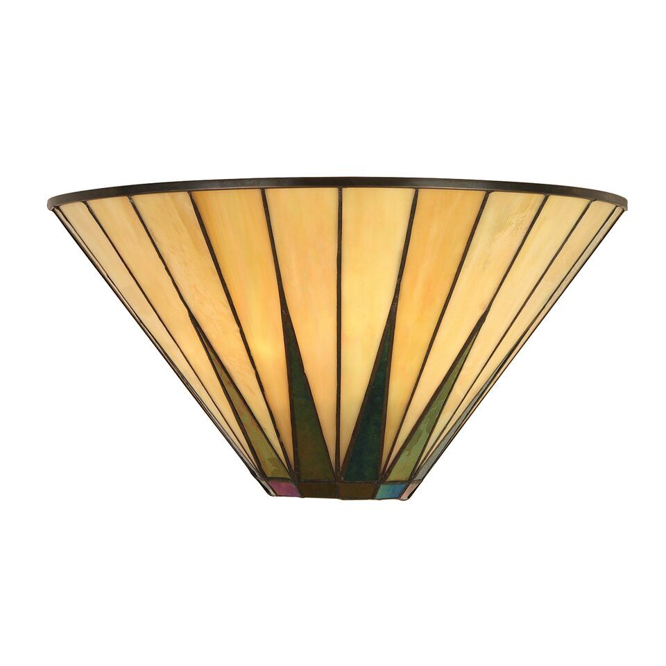Interiors 1900 Dark Star 64046 Tiffany Wall Light | Luxury Lighting