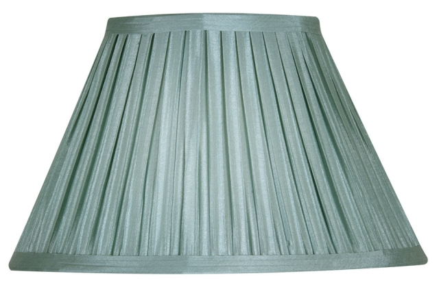 Oaks duck egg 8 box pleat faux silk lamp shade s6508 de oaks duck egg 8 box pleat faux silk lamp shade oaks lighting aloadofball Image collections