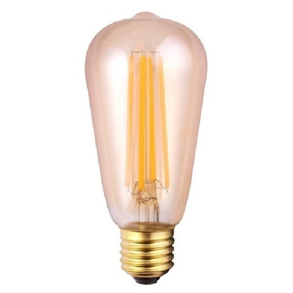 ES E27 ST64 Squirrel Cage Vintage LED Light Bulb Tinted 7 Watt | Luxury Lighting