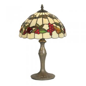 "Fruit 12"" Tiffany Table Lamp - Oaks Lighting"