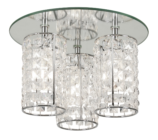 glamour bathroom ceiling light oaks lighting