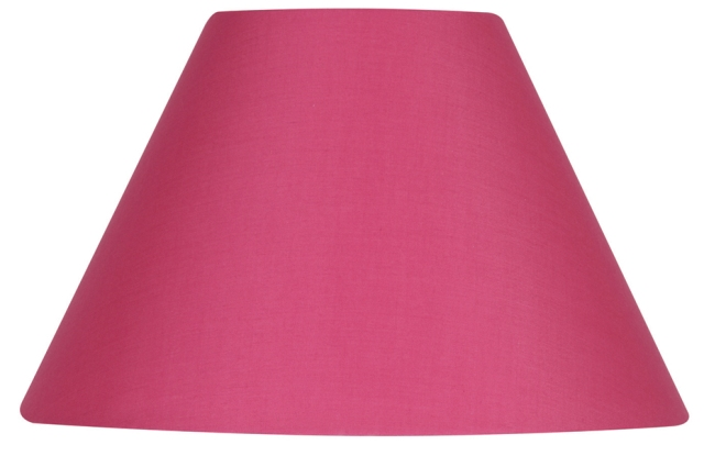Oaks hot pink 16 cotton coolie lamp shade s50116 hp oaks hot pink 16 cotton coolie lamp shade oaks lighting aloadofball Gallery