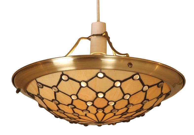 Oaks jewel tiffany ceiling lampshade ot 156214 ne oaks lighting jewel tiffany lamp shade oaks lighting aloadofball Gallery