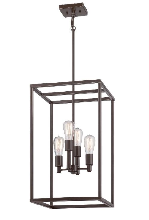 New Harbor Lantern Style Ceiling Light - Quoizel Lighting  sc 1 st  Luxury Lighting & Elstead New Harbor 4 Light Ceiling Light Pendant | QZ/NEWHARBOR/4P ...