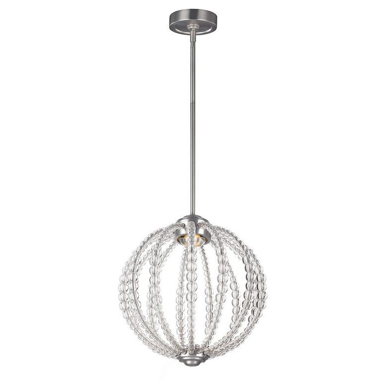 Elstead Oberlin Small LED Ceiling Light Pendant | FE/OBERLIN/P/S | Feiss Lighting | Elstead Lighting