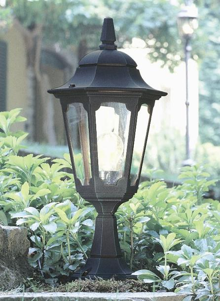 Elstead Parish Pedestal Lantern | PR4 BLK | Elstead Lighting | Luxury Lighting