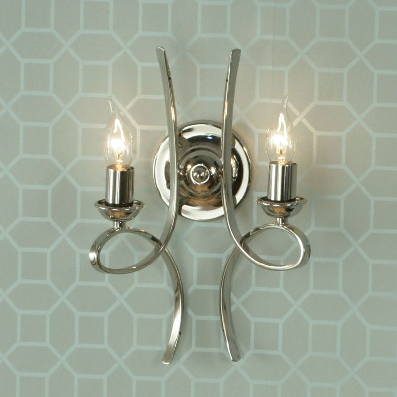Interiors 1900 Penn CA7W2N Double Nickel Wall Light | Luxury Lighting