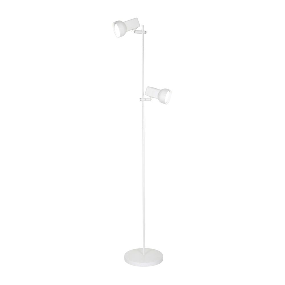 Oaks Quattro White Floor Lamp | 8051 WH | Oaks Lighting | Luxury Lighting