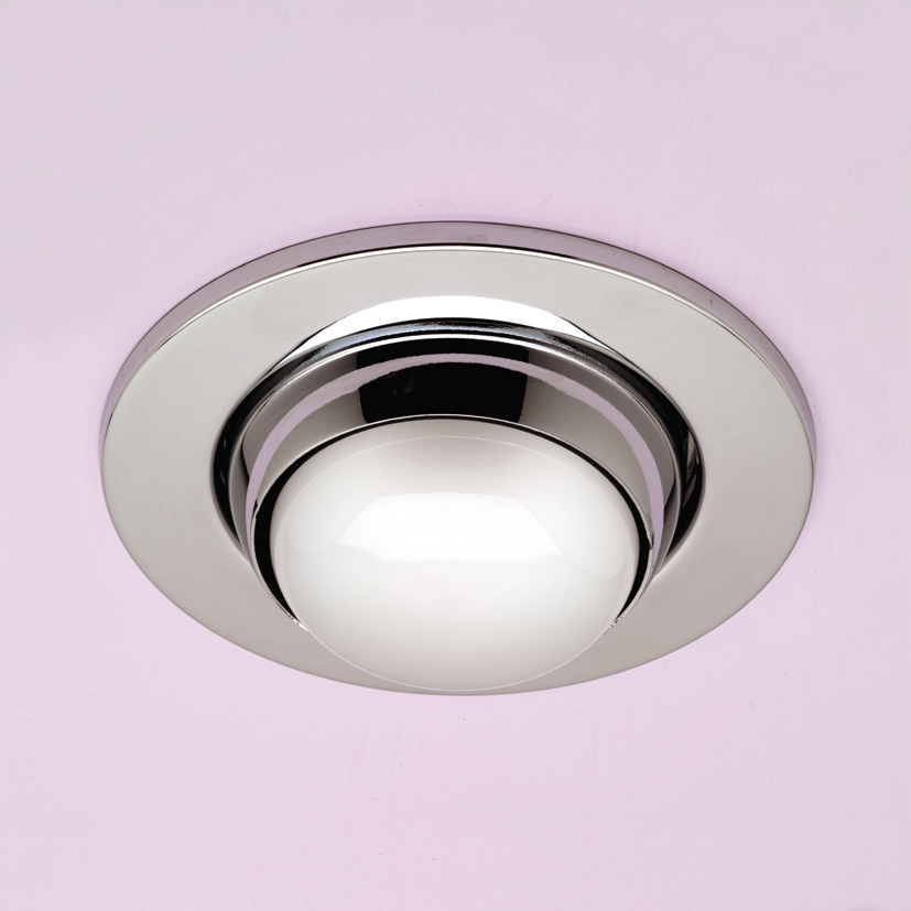 R80 Mains Voltage Eyeball Downlight Chrome