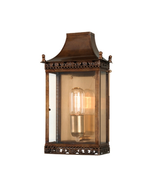 Elstead Regents Park Solid Brass Lantern Antique Brass | REGENTS PARK BR | Elstead Lighting | Luxury Lighting