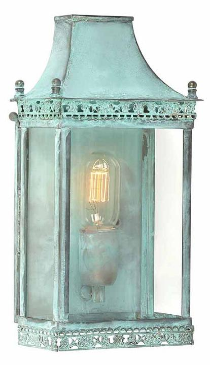 Elstead Regents Park Solid Brass Lantern Verdigris | REGENTS PARK V | Elstead Lighting | Luxury Lighting