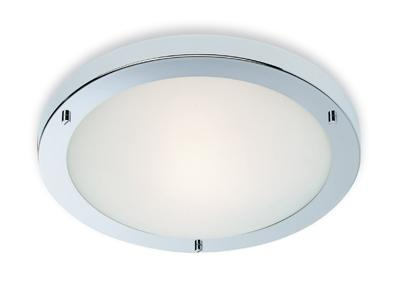 Rondo Chrome Bathroom Ceiling Light - Firstlight Lighting