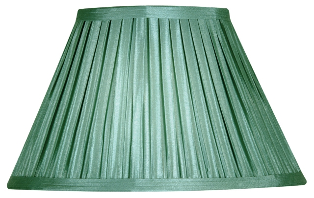 Oaks Sage 5 Quot Box Pleat Faux Silk Lamp Shade S650 5 Se